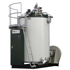 Up Burn Type Hot Water Boiler