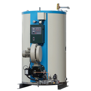 Down Burn Type Hot water Boiler - Gas